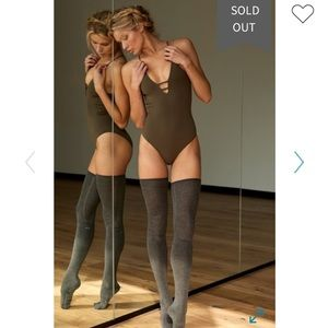 Free People Dance All Day Bodysuit